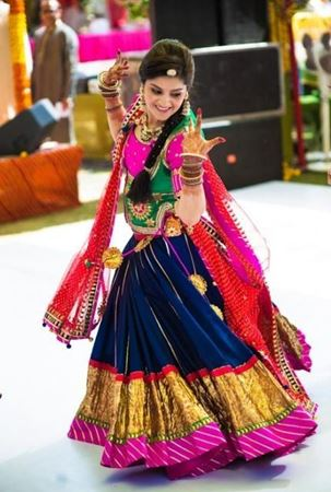 Picture for category Striped Lehengas