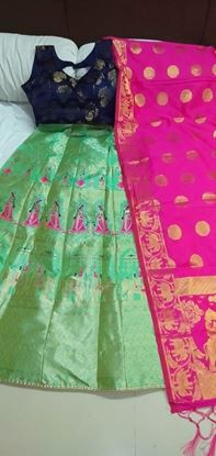 Picture of Heavy Lehenga, Blouse And Dupatta