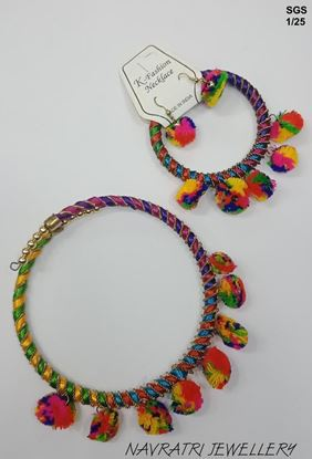 Picture of Navratri Jewellary Fancy Beads Necklace