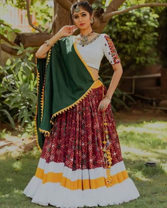 Picture of Designer Party Wear New Navratri Chaniya Choli Collection