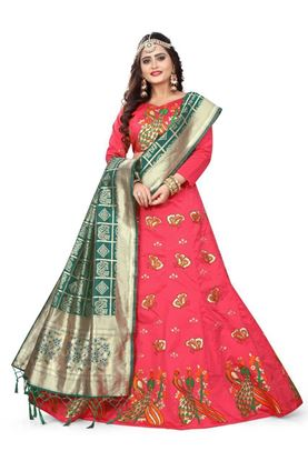 Picture of New Designs Embroidery Lehenga Choli Collection
