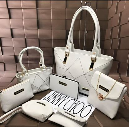 Picture of Brand - Jimmy Choo Hand Bags 7 pcs Combo