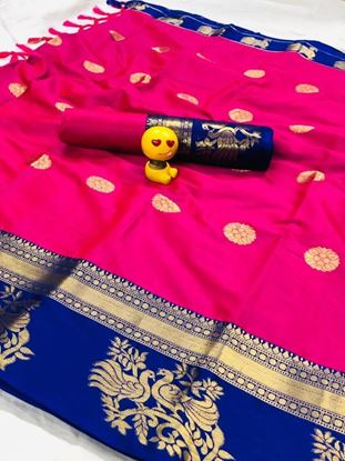Picture of Seema Butta Saree With Blouse