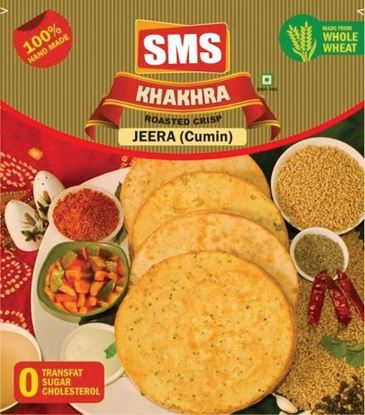 Picture of SMS Jeera (Cumin) Khakhra (Pack of 4)
