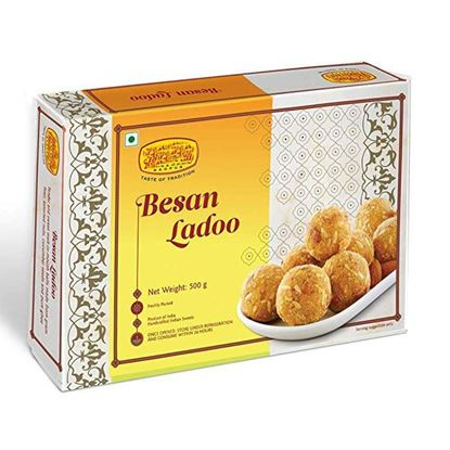 Picture of Besan Ladoo 500gm (Pack of 1)