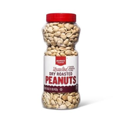 Picture of Unsalted Dry Roasted Peanuts Jar