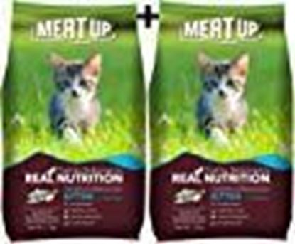Picture of Meat Up Kitten Cat Food, 1.2 kg (BUY 1 GET 1 FREE)