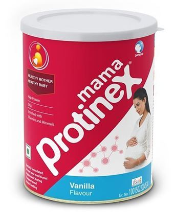 Picture of Protinex Mama Vanilla Flavour Tin Package - 250 gm