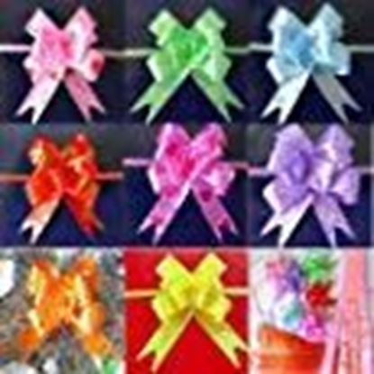 Picture of Infinxt Pull Flower Ribbon For Gift Wrap & Decoration Multicolor - 50Pcs (Large)