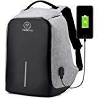 Picture of Spartans Anti-Theft Multi-purpose Backpack (Grey)
