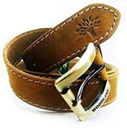 Picture of Woodland-o-belt Men's Leather Belt(Brown)