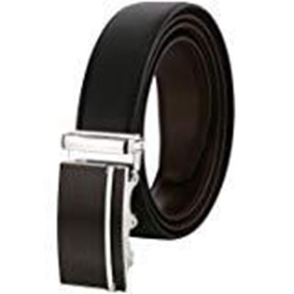 Picture of Hill $ Oliver Men's REVERSIBLE Leather Belt with turning autolock buckle.