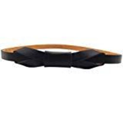 Picture of Sunward Women's Candy Leather Skinny Butterfly Bow Waist Belt Waistband