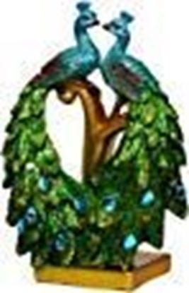 Picture of Sigaram Peacock Pair Showpiece for Table Décor