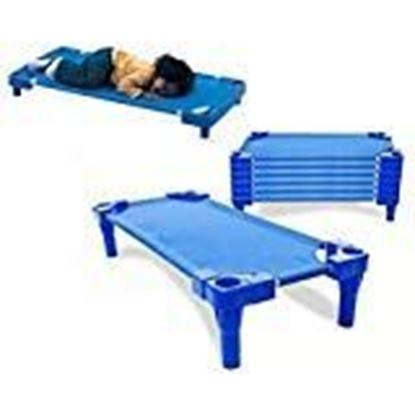 Picture of Babycenterindia Toddler Cots Without Cot Sheets (Blue)