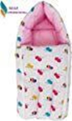 Picture of Nagar International Baby's Polyester and Cotton Sleeping Bag for New Born Baby