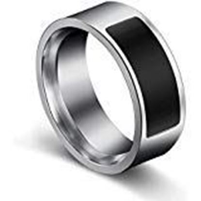 Picture of YouBella Jewellery Stainless Steel Intelligent Smart Temperature Ring for Boys/Men/Girls and Women