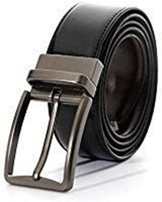 Picture of VARIETY & CAPTURE Men's Leather Belt (Black, Free Size)