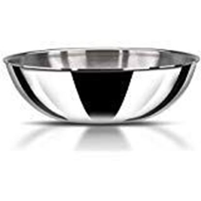 Picture of Vinod Platinum Triply Stainless Steel Extra Deep Tasla 3.3 LTR(Induction Friendly)
