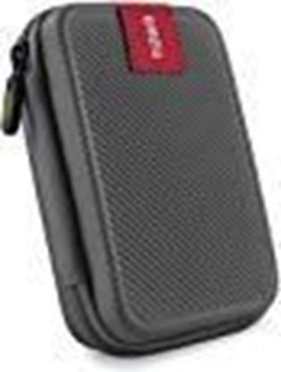 Picture of Tizum Double Padded TZ-HDD 2.5-inch External Hard Drive Case (Gray)