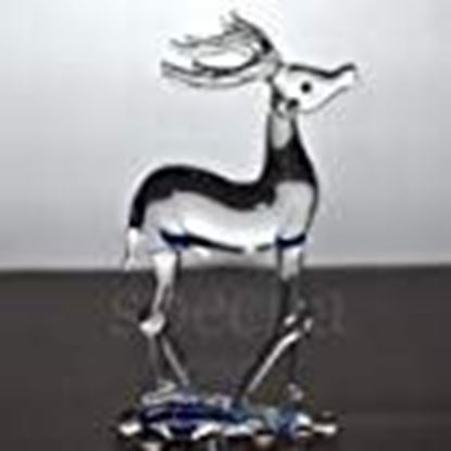 Picture of Specila Deer ! Glass Showpiece ! Crystal Showpiece ! Home Decor