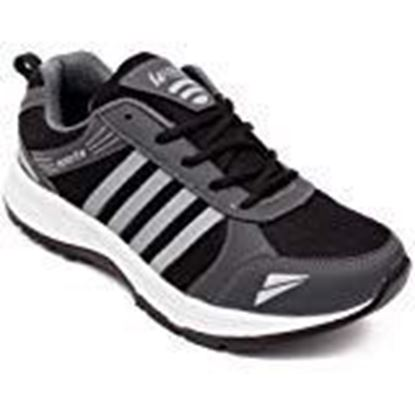 Picture of ASIAN Shoes Wonder-13 Grey Firozi Mesh Shoes