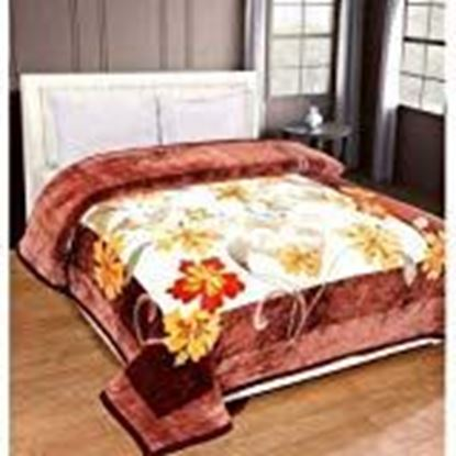 Picture of Tradeblush Double Luxury Heavy Bed Mink Blankets Super Soft Silky Texture