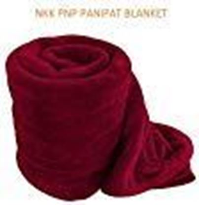 Picture of NKK PNP PANIPAT Manufactured Fleece Blanket- Double Bed Size