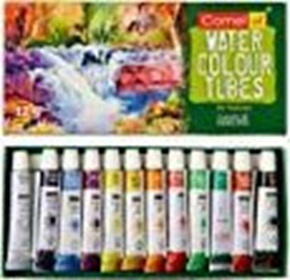 Picture of Camel Camlin Kokuyo Student Water Color Tube - 5ml Each, 12 Shades