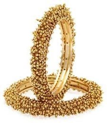 Picture of GOLD PEARL BANGLES-AND-BRACELETS