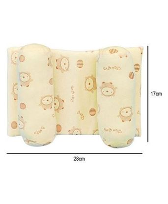 Picture of Anti Roll Pillow Animal Print - Yellow