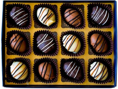 Picture of Almond Date Chocolates