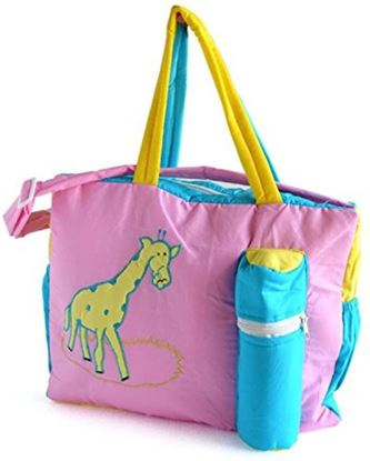 Picture of New Born Baby Multipurpose Mother Bag With Holder Diapper  Bag