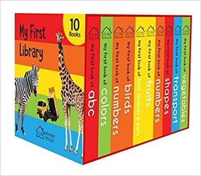 Picture of Boxset of 10 Board Books for Kids