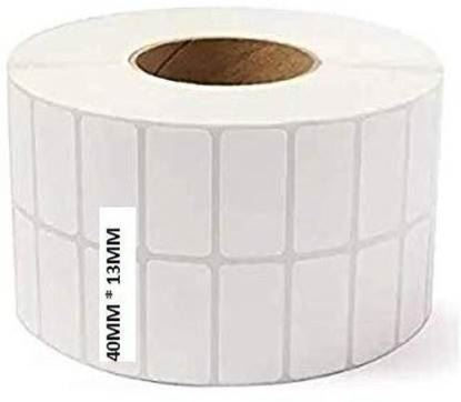 Picture of Barcode Labels Stickers, 5000 Label in Roll, 2up Paper Label  (White)