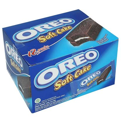 Picture of Oreo Soft Cake - Pack of 12 Piece